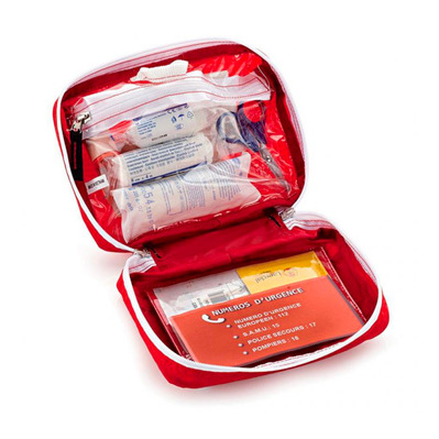 FIRST AID KIT SMALL FULL - Botiquín primeros auxilios red