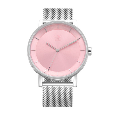 DISTRICT M1 - Reloj de cuarzo hombre silver/light pink sunray