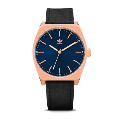 PROCESS L1 - Montre quartz Femme rose gold/navy sunray/black