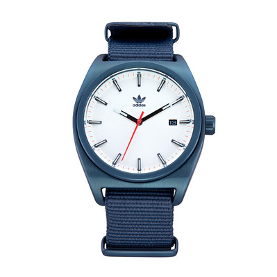 PROCESS W2 - Montre quartz Homme navy/silver sunray/red