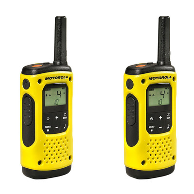 T92 H2O - Walkie-talkies x2 yellow
