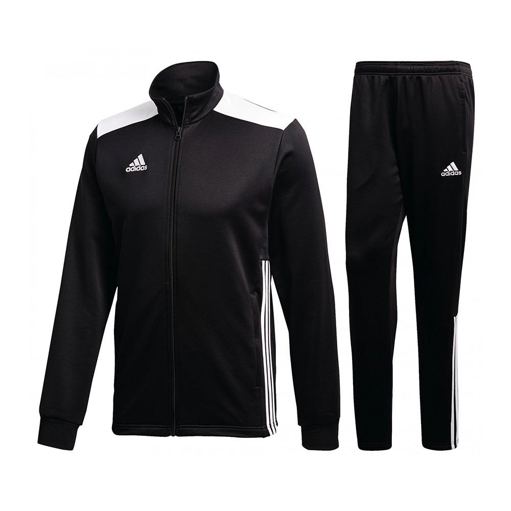 Banquete sección Desplazamiento  ADIDAS TRAINING Adidas REGISTA 18 - Chándal hombre black/white - Private  Sport Shop