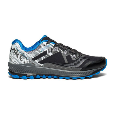 PEREGRINE 8 ICE+ - Chaussures trail Homme black/white/blue