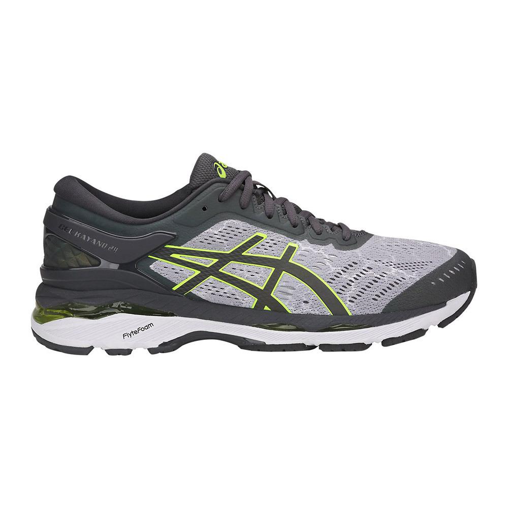 Entrelazamiento ruptura Shipley  ASICS Asics GEL-KAYANO 24 LITE-SHOW - Zapatillas de running hombre mid  grey/dark grey/safety yellow - Private Sport Shop