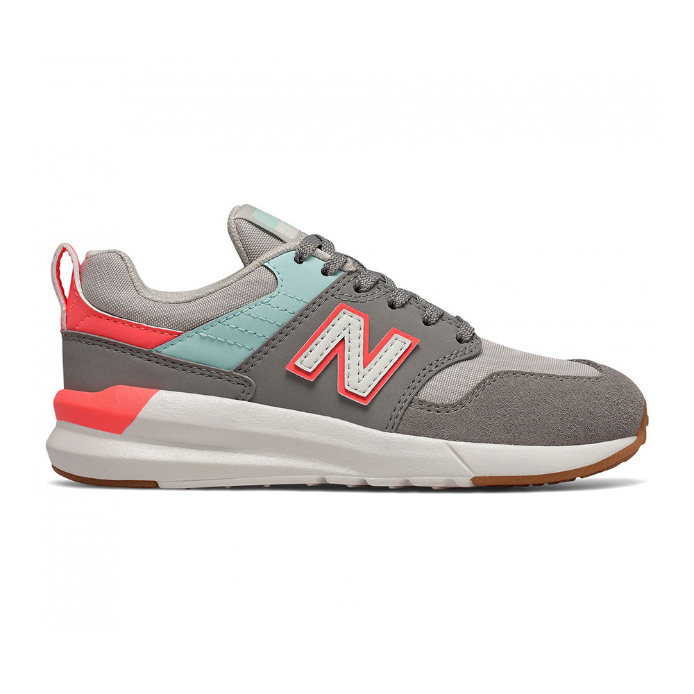 LIFESTYLE SHOES New Balance YS009-RC1 - Shoes - Junior - grey/red ...