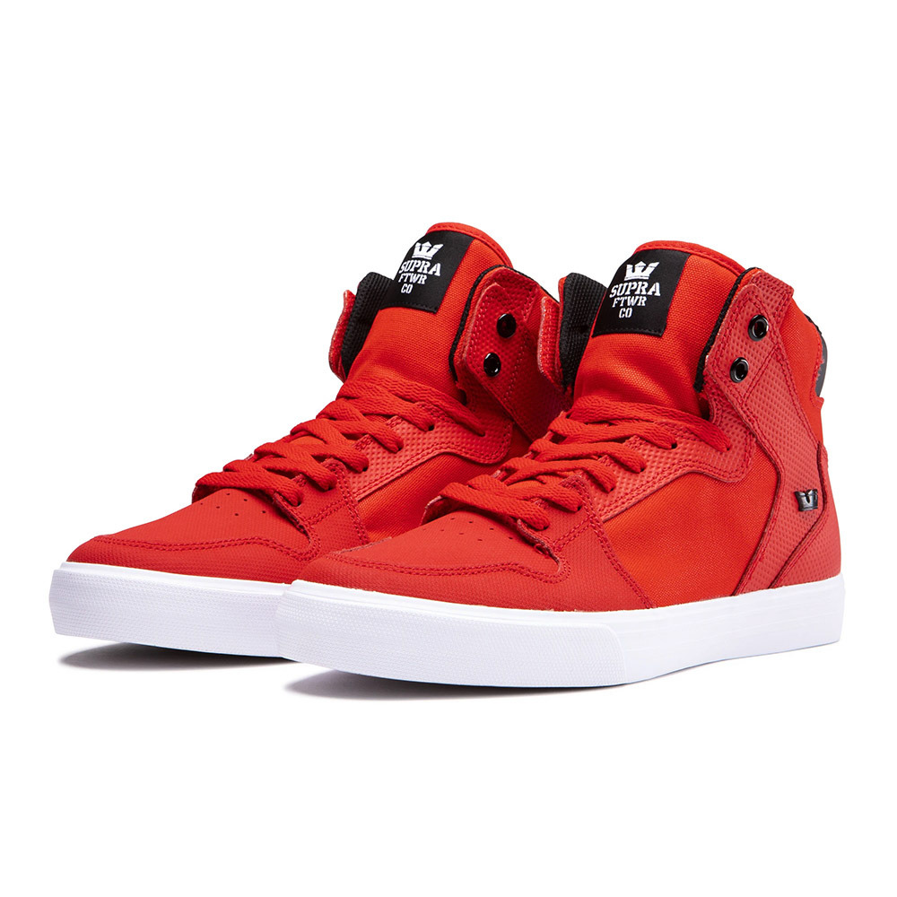 SHOES Supra VAIDER - Shoes - risk red
