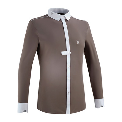 HORSE PILOT - Aerolight Shirt ML Men 2019 Homme Taupe