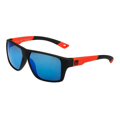 BOLLE - BRECKEN FLOATABLE BLACK RED HD POLARIZED OFFSHORE BLUE Unisexe Rouge