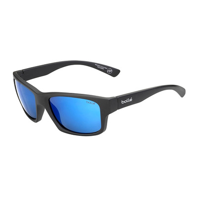 BOLLE - HOLMAN FLOATABLE MATTE BLACK HD POLARIZED OFFSHORE BLUE Unisexe Noir