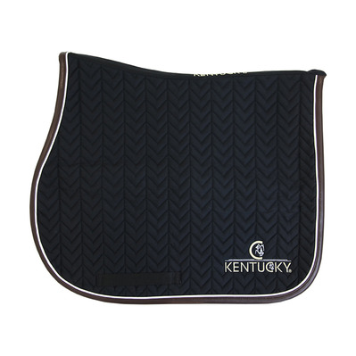 KENTUCKY - FISHBONE - Tapis jumping noir