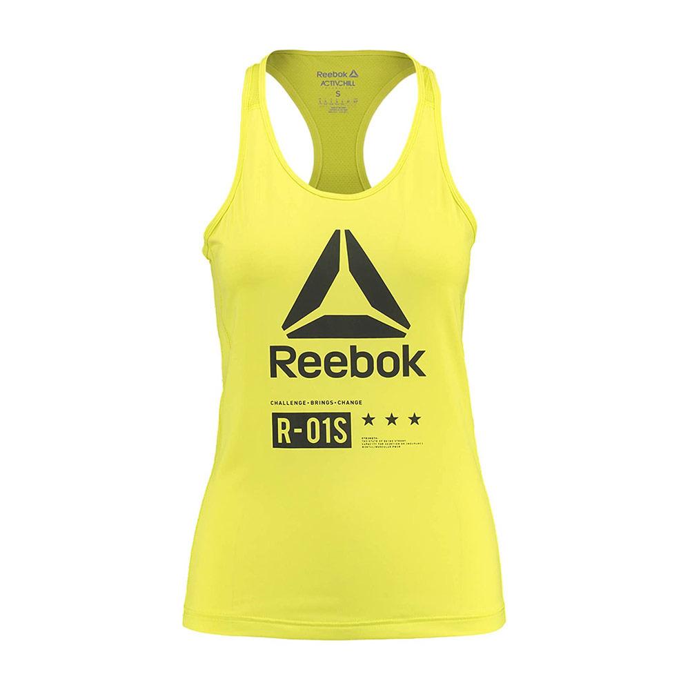 hambruna Teoría de la relatividad sanar  ADIDAS NIKE FILA REEBOK Reebok CROSSFIT - Camiseta de tirantes mujer  amarillo - Private Sport Shop