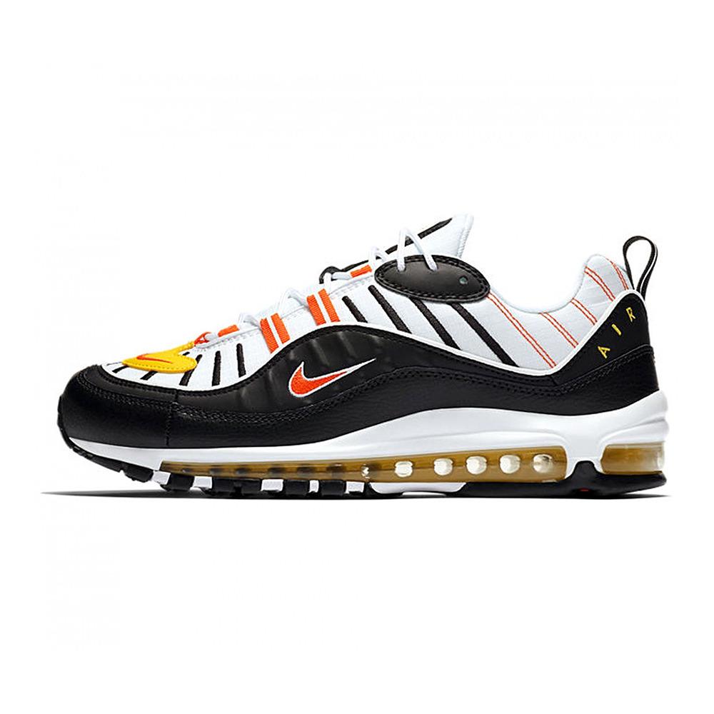 NIKE Nike AIR MAX 98 Sneakers Homme whiteblackorange