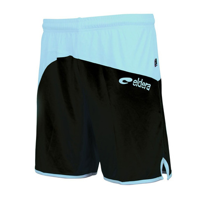 ELDERA - MONDIAL - Shorts - black/sky blue