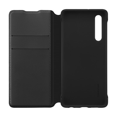 HUAWEI - P30 WALLET FLIPCOVER - Coque protection noir