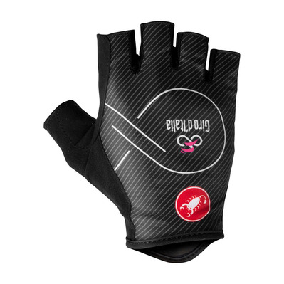 CASTELLI - GIRO D'ITALIA - Fingerless Gloves - Men's - black