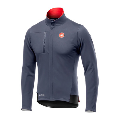 CASTELLI - DOUBLE EXPRESSO - Jacket - Men's - dark steel blue