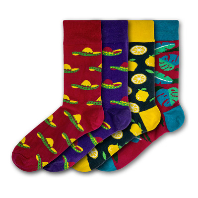 BLACK & PARKER - LIGHTWATER VALLEY - Socks x4 Men's - mixed