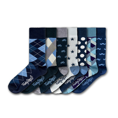 FUNKY STEPS - FSA309 - Socks x7 Men's - mixed