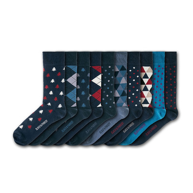 BLACK & PARKER - WESTONBIRT ARBORETUM - Socks x10 mixed