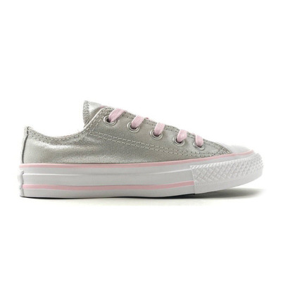 CONVERSE - CHUCK TAYLOR ALL STAR - Shoes - Junior - mouse/pink foam/white grade B