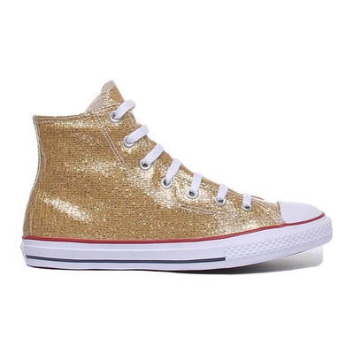 CONVERSE - CHUCK TAYLOR ALL STAR HI - Shoes - Junior - gold/enamel red/white grade B