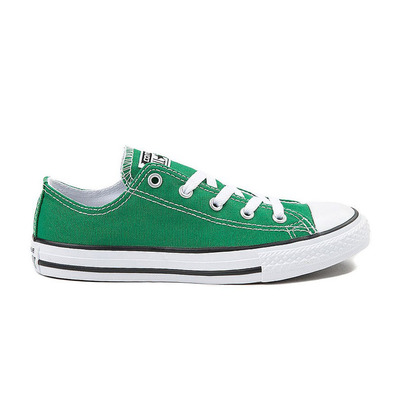 CONVERSE - CHUCK TAYLOR ALL STAR SEASONAL LOW TOP 350476F - Shoes - Junior - amazon green grade B