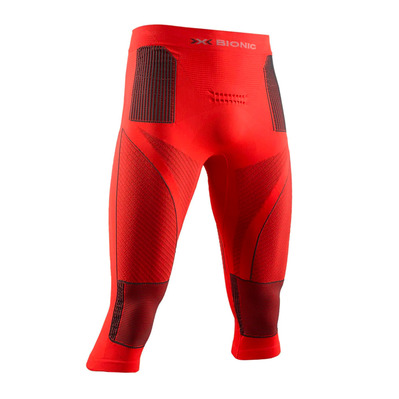 X-BIONIC - ENERGY ACCUM P 3/4 M - 3/4 Leggings - Men's - sunset orange/anthracite