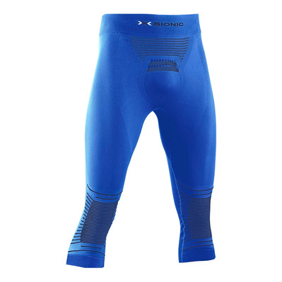 X-BIONIC - ENERGIZER P 3/4 M - 3/4 Leggings - Men's - teal blue/anthracite