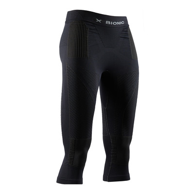 X-BIONIC - ENERGY ACCUM - 3/4 Leggings - Women's - black/black