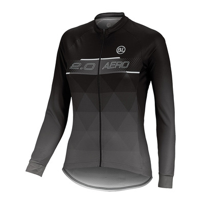BICYCLE LINE - AERO 2.0 - Camiseta mujer black