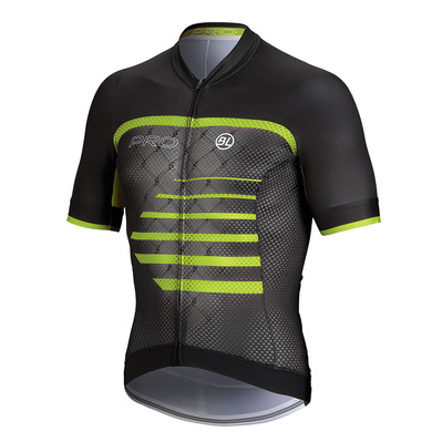 BICYCLE LINE - PRO - Camiseta hombre black/green