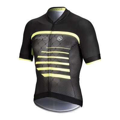 BICYCLE LINE - PRO - Camiseta hombre yellow/black