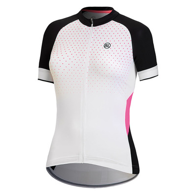 BICYCLE LINE - REKORD LINE POETICA - Camiseta mujer white/fuschia
