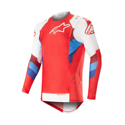 alpinestars - SUPERTECH - Jersey - Men's - red/white