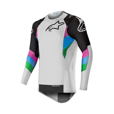 alpinestars - SUPERTECH - Jersey - Men's - grey/black