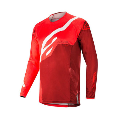alpinestars - TECHSTAR FACTORY - Jersey - Men's - red burgundy