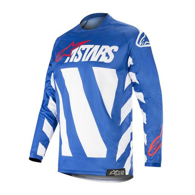 alpinestars - RACER BRAAP - Jersey - Men's - blue/white/red