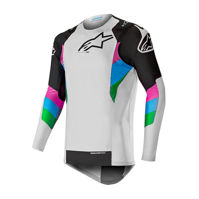 alpinestars - SUPERTECH - Jersey - Men's - white/black