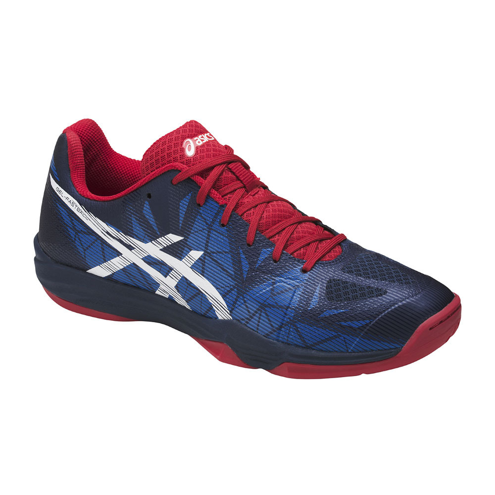 Es decir Ondas Funcionar  ASICS INDOOR SPORTS Asics GEL-FASTBALL 3 - Handball Shoes - Men's - insigna  blue/white/prime red - Private Sport Shop
