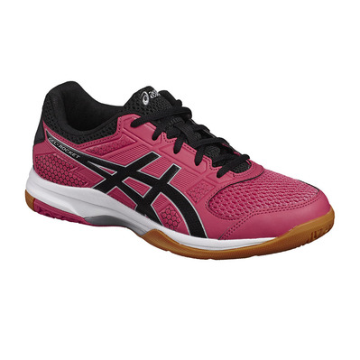 ASICS - GEL-ROCKET 8 - Volleyball Shoes - Women's - rouge red/black/white