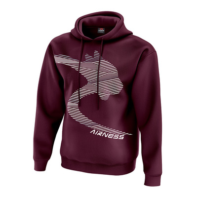 AIRNESS - BALBOA - Sweatshirt - Men's - burgundy