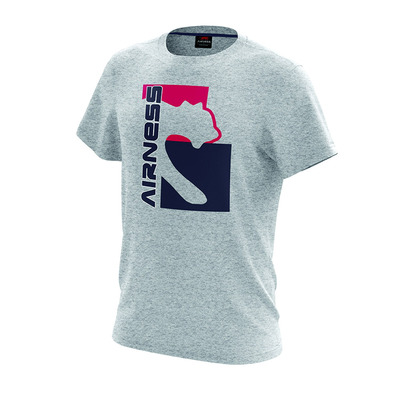 AIRNESS - BLOCK - T-Shirts - Men's - heather grey