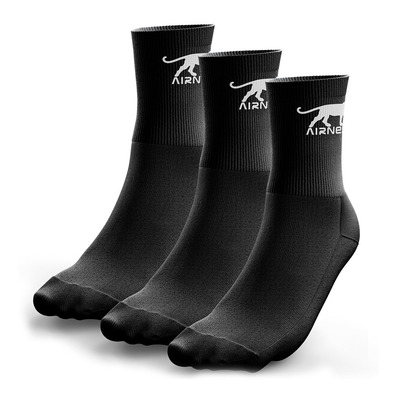 AIRNESS - CORPORATE - Socks x3 Men's - black