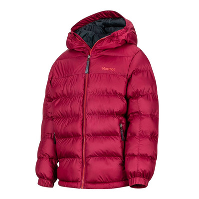 MARMOT - CIRQUE FEATHERLESS - Down Jacket - Boy's - madder red