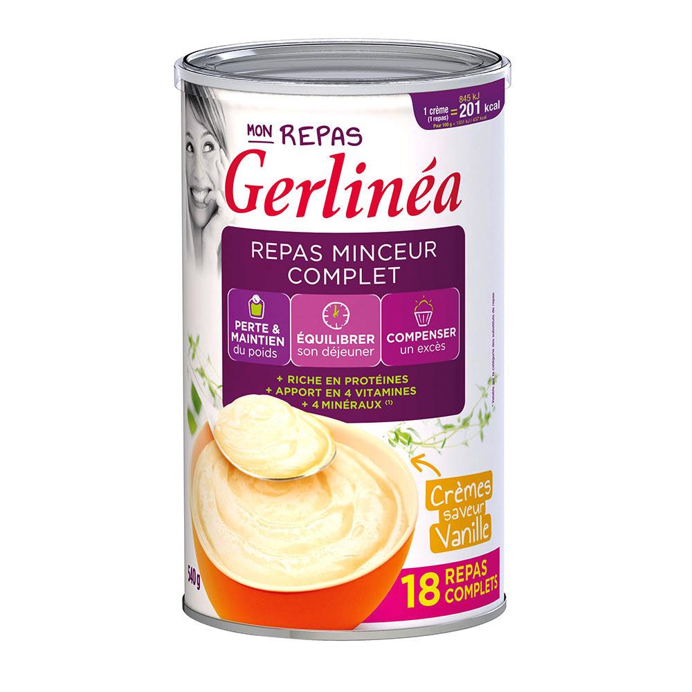 GERLINEA Gerlinéa REPAS COMPLET - Boîtes de crème x3 ...