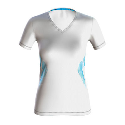 ARENA - ESSENTIAL S/S LOGO - T-Shirt - Women's - white