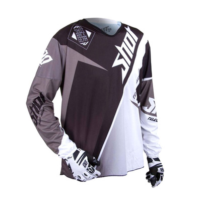 SHOT - MAROON - Maillot Homme black/silver