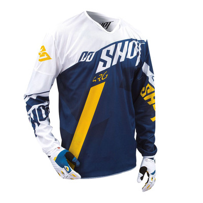 SHOT - SYSTEM - Maillot Homme blue/yellow