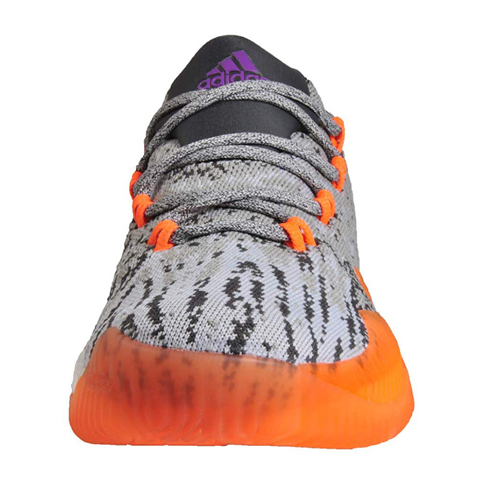 taller desarrollando flota  ADIDAS Adidas CRAZY LIGHT BOOST LOW 16 PRIMEKNIT - Zapatillas de baloncesto  hombre grey/orange - Private Sport Shop