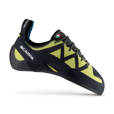 SCARPA - VAPOR LACES - Climbing Shoes - black/yellow
